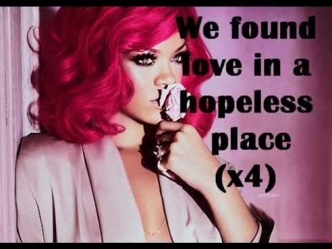 Rihanna- We found love LYRICS