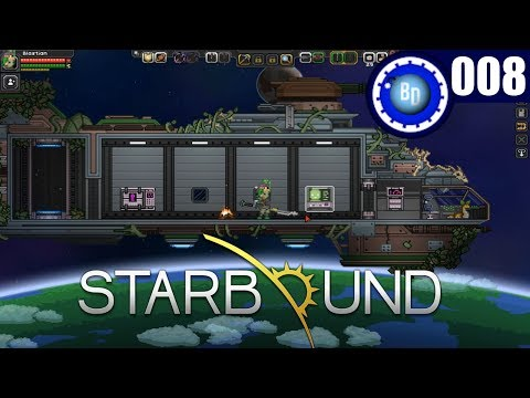 Moon ghosts and haunted caverns - Starbound ep.8