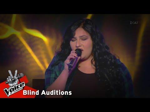 Έλενα Συμεωνίδου - Billie Jean   5o Blind Audition   The Voice of Greece