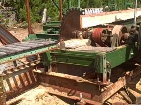 how to build a sawmill youtube