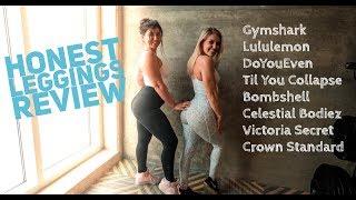 HONEST LEGGING REVIEW | Gymshark, Celestial Bodiez, Til You Collapse, Lululemon, DoYouEven and more