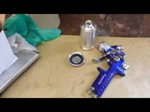HVLP Cerakote H Spray Guns - Paasche HG-08