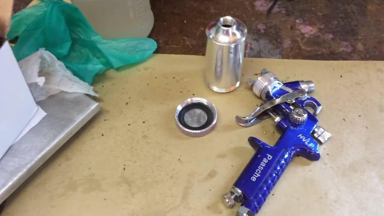 Hvlp Spray Gun Kit >> HVLP Cerakote H Spray Guns - Paasche HG-08 - YouTube