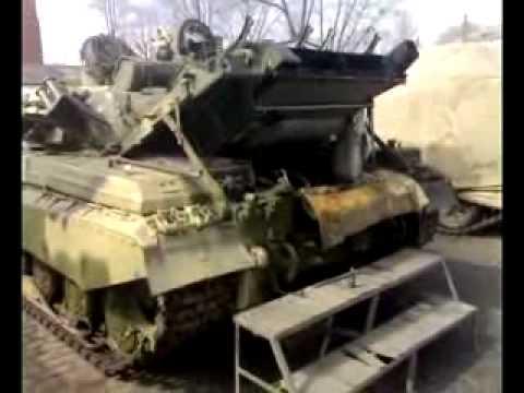 запуск танкового двигателя starting tank engine