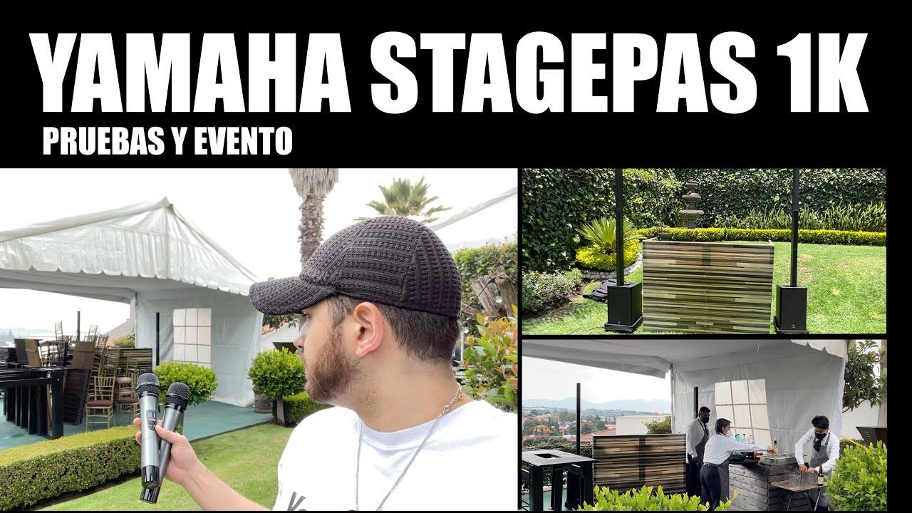 Yamaha Stagepas 1k EN EVENTO