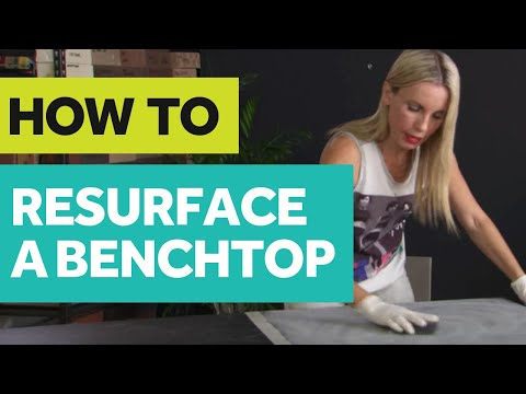 HOW TO Resurface A Benchtop