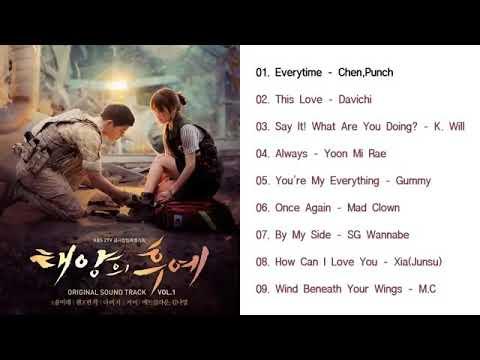 [รวมเพลงเกาหลี]เพลงประกอบซีรีส์ เรื่อง DESCENDANTS OF THE [รักนี้เพื่อชาติหัวใจนี้เพื่อเธอ]