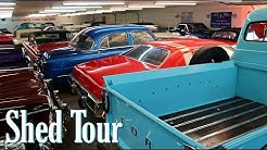 Shed Tour at Country Classic Cars in Staunton, IL