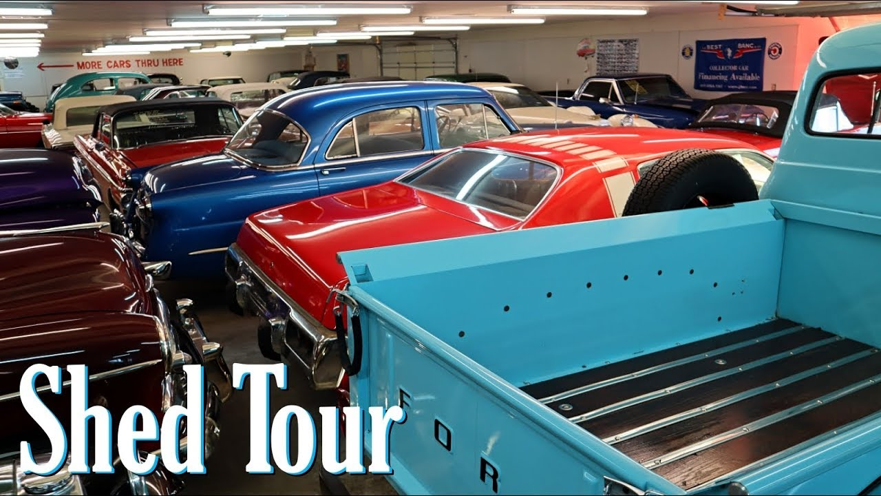 Shed Tour At Country Classic Cars In Staunton Il Youtube