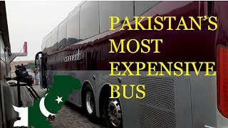 Most expensive bus service in Pakistan | Q connect | Trip Day 5 | MR vlogs #23