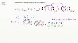 Matrizenmultiplikation - Lineare Algebra - Berufliches Gymnasium Klasse 12