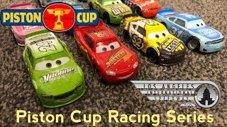 Piston Cup Racing Series PCRS | Race 1/7 Los Angeles International Speedway Stop Motion
