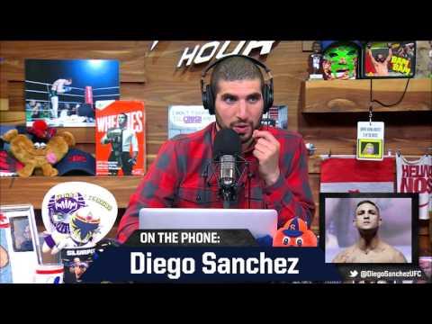 Diego Sanchez Recalls Scare That Led to Nickname 'Lionheart'
