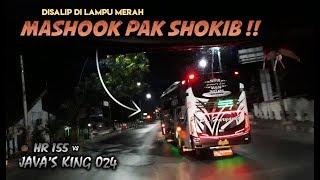 Salah satu aksi dari HR 155 (tanpa julukan), mengejar bis Haryanto ...