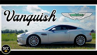 Aston Martin Vanquish 2004 4k Test Drive In Top Gear With V12 Engine Sound Scc Tv Youtube