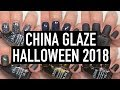 China Glaze - Paint It Black (Halloween 2018) | Swatch and Review