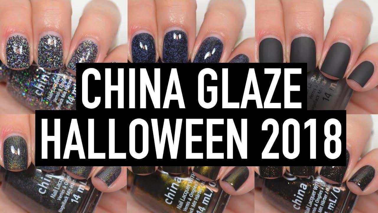China Glaze , Paint It Black (Halloween 2018)