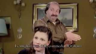 Vieni avanti cretino - Lino Banfi - a casa del cugino Gaetano - scena interrogatorio