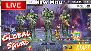 FREE FIRE LIVE || BOOYAH SQUAD RANK 4000+ || INDIA #GSK