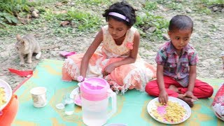 Village Food | Village Cooking Vegetables Healthy Egg Biryani | Egg Biryani Recipe Very Tasty Foods