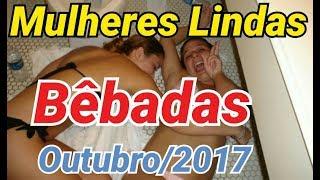 VÍDEOS ENGRAÇADOS DO WHATSAPP, OUTUBRO DE 2017, MULHERES BÊBADAS