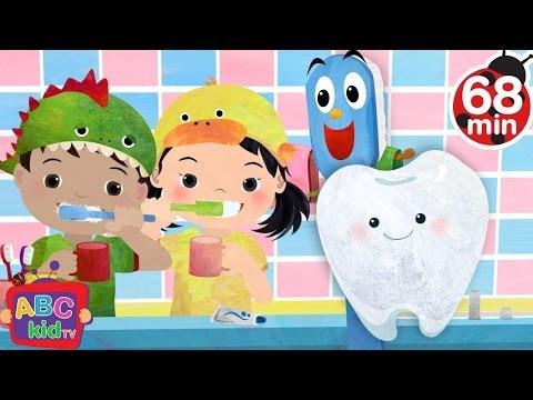 Brush Your Teeth | + More Nursery Rhymes & Kids Songs - ABCkidTV
