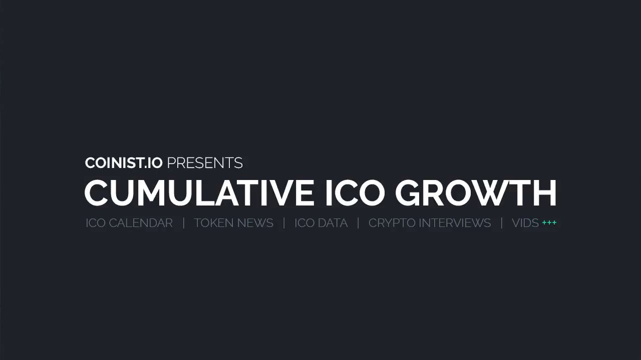 Cumulative ICO Growth Graph