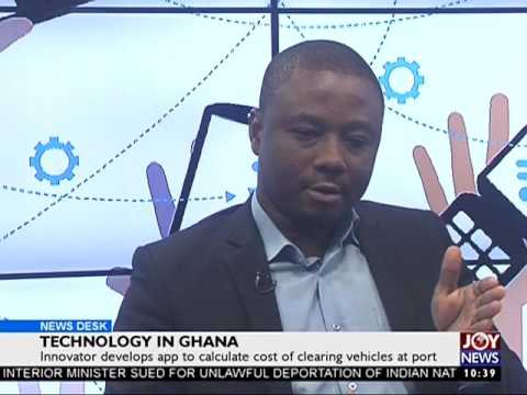 Technology in Ghana - News Desk on JoyNews (21-7-17)