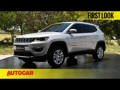 Jeep Compass India First Look Autocar India Youtube