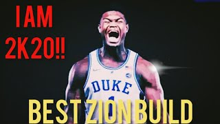 BEST ZION WILLIAMSON BUILD! BEST TWO WAY BUILD! BEST SF BUILD! You can be dominate.DROP 47 POINTS.