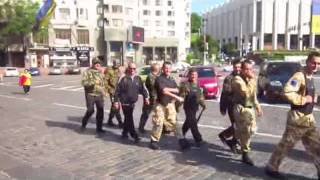 Maidan Self Defence at Verkhovna Rada In Kyiv, June 17 2014
