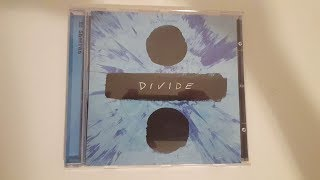 Ed Sheeran - ÷ (Divide) Unboxing CD