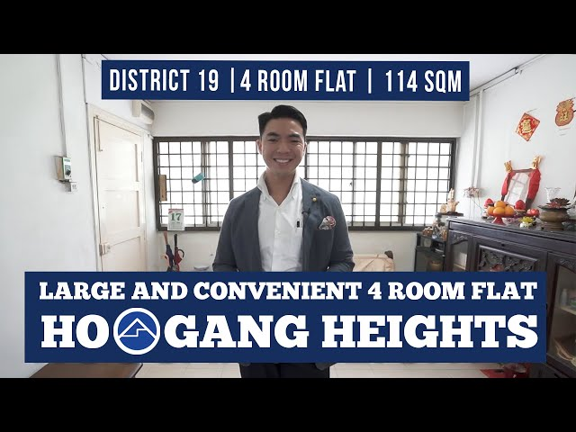 [SOLD!!!] Ground Floor 4A Model HDB at 239 Hougang Street 22, 114 sqm in Kovan Singapore