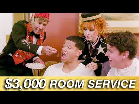 We Spent $3000 On Room Service
