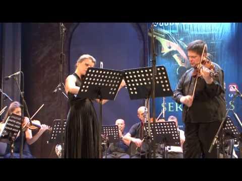 Liana Isakadze's festival Night Serenades Yuri Zhislin & Natalia Lomeiko,Mozart,part2