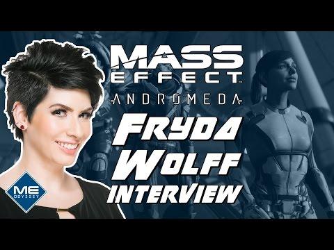 Fryda Wolff Interview! - Sara Ryder in Mass Effect Andromeda