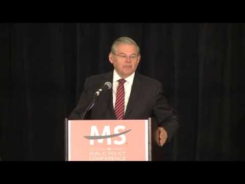 New Jersey's Robert Menendez, National MS Society 2013 Senator of the Year