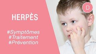 Soigner l'herpès de l'enfant - Maladies infantiles