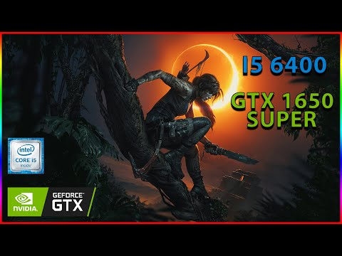 I5 6400 GTX 1650 SUPER Benchmark 8 Games Tested