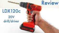 Black & Decker LDX120c Review - 20 Volt Lithium-ion Cordless Drill/driver