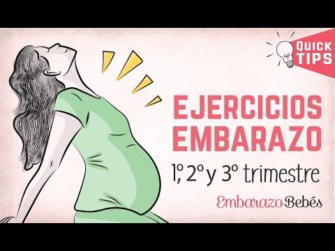 EJERCICIOS PARA EMBARAZADAS - 1º, 2º y 3º Trimestre ✅❤️