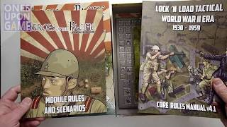 Heroes of the Pacific | Lock 'n Load Tactical || unboxing