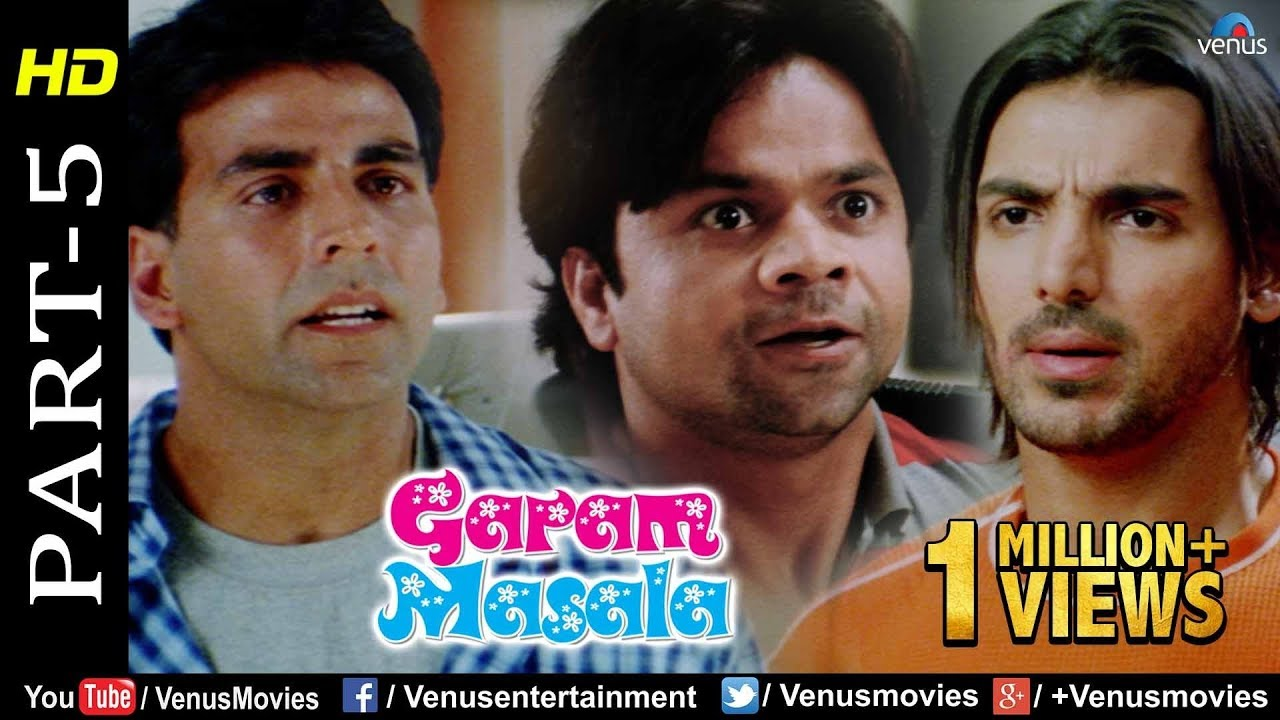 Garam Masala - Part 5   Akshay Kumar & John Abraham   Hindi Movies   Best Comedy Scenes