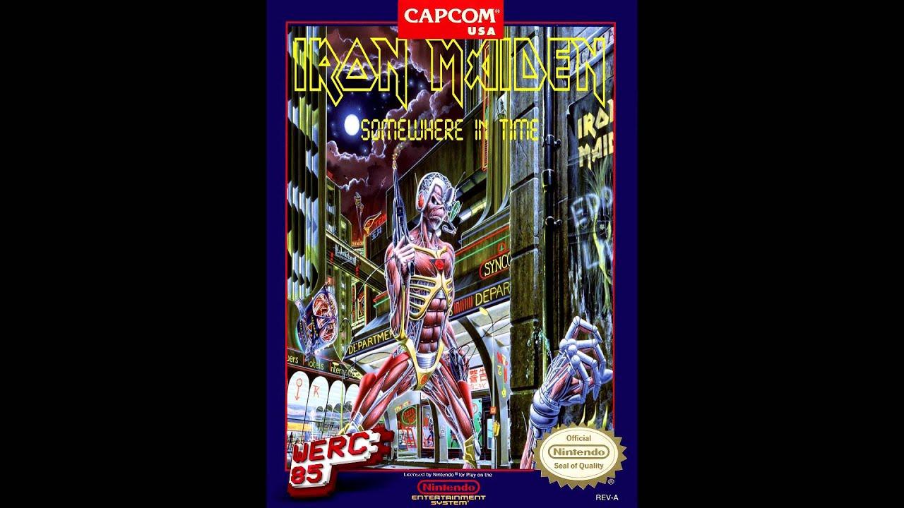 Iron Maiden Caught Somewhere In Time 8bit Werc85