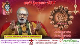 Tula Rasi (Libra Horoscope) - November 19th - November 25th Vaara Phalalu