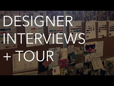 Fashion Designer Interviews + Office Tour: Taylor & Sage