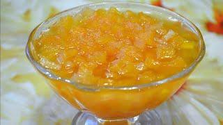 Как сварить варенье из тыквы./How to cook pumpkin jam.