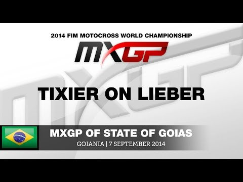 MXGP of State Of Goias 2014 - Tixier On Lieber - Motocross