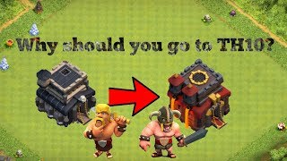 This is why you should go to TH10 in Clash of Clans!
