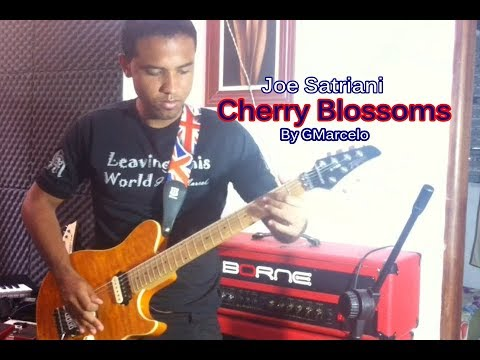 Joe Satriani - cherry blossoms by GMarcelo Cover ( I HAVE BACKING TRACK )